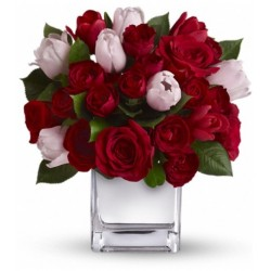 It had to be You Cube Vase Bouquet